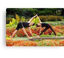 Yoga 7 Canvas Print