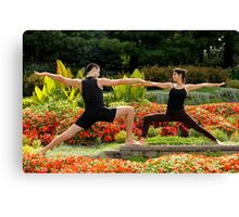 Yoga 8 Canvas Print