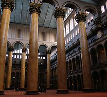 National Building Museum. Washington DC. 2008 by jwhimages