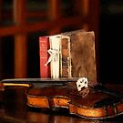 Violin & Old Books by doctorphoto