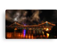 Story Bridge - Brisbane Canvas Print