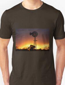 Kansas Stormy Night Unisex T-Shirt