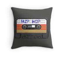 Hip Hop  Music Cassette tape Throw Pillow