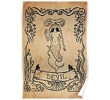 Mermaid Tarot: The Devil Poster