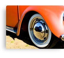 Beetle Wheel Canvas Print