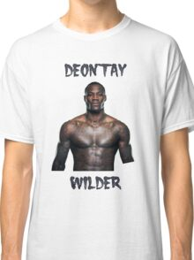 Deontay Wilder Heavyweight boxer Classic T-Shirt