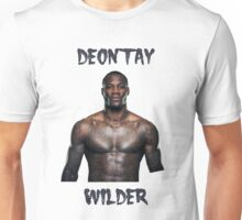 Deontay Wilder Heavyweight boxer Unisex T-Shirt