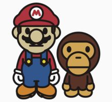 Mario and baby milo by m1jkey