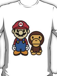 Mario and baby milo T-Shirt