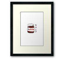 NUTELLA-DESU3 Framed Print