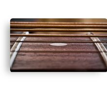 Analog fret Canvas Print