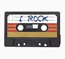 I Rock and Roll - Cassette Tape Music Kids Clothes