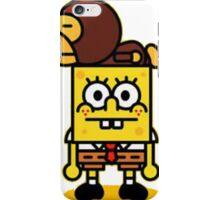 spongebob and baby milo iPhone Case/Skin