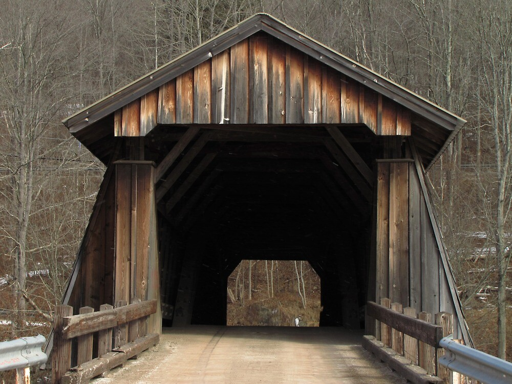 Livingston Manor Covered Bridge by Pamela Phelps