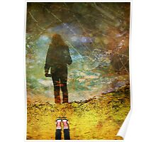 And Then He Turned Her World Upside Down Poster