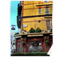 London Corner Pub Poster