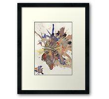 Native Ink Framed Print