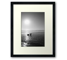 Dogs at Play Framed Print