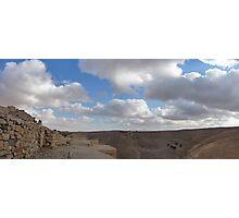 Ash Shubak Castle Jordan Photographic Print