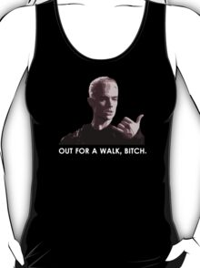 Spike, out for a walk - light font (TANK/SCOOP TOP) T-Shirt