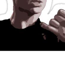 Spike, out for a walk - light font (TANK/SCOOP TOP) Sticker