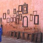 frame seller, Marrakech Morocco by Sevenm2