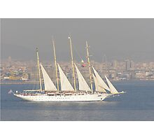 Sailing the Bosphorus Photographic Print