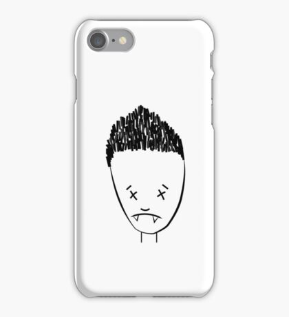 Spikes drawing of Angel - (TANK/SCOOP TOP) iPhone Case/Skin