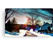 Noreaster Aftermath Canvas Print