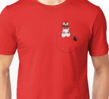 Pocket Boh and bird Unisex T-Shirt