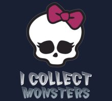 Monster Collector - Monster High Doll Shirt Dark by PlagueRat