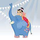Blue Circus by alapapaju