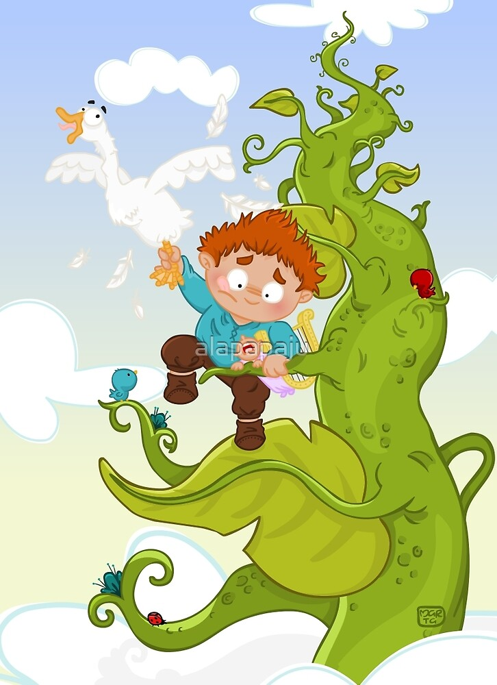 Jack and the Beanstalk by alapapaju