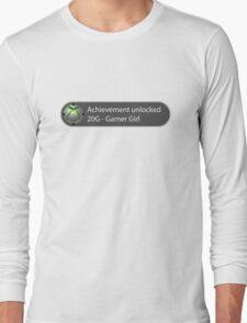 Achievement Unlocked - 20G Gamer Girl Long Sleeve T-Shirt