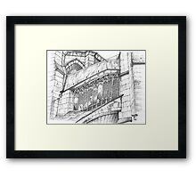 Chartres Cathedral.  Framed Print