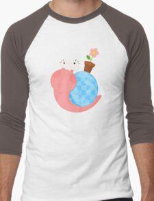 Snail (female) Men's Baseball ¾ T-Shirt