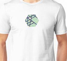 single hexagon Unisex T-Shirt