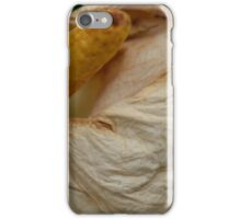 Changing Times of the White Calla  iPhone Case/Skin