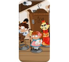 the shepherdess and the chimney sweep iPhone Case/Skin