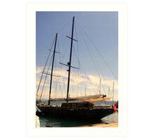 A Superb Sailing Vessel Art Print
