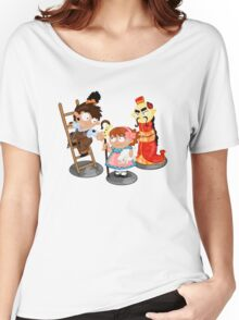 the shepherdess and the chimney sweep Women's Relaxed Fit T-Shirt
