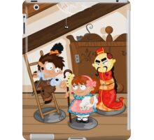 the shepherdess and the chimney sweep iPad Case/Skin