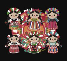 Mexican Dolls One Piece - Long Sleeve
