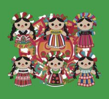 Mexican Dolls Kids Clothes