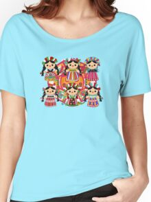 Mexican Dolls Women's Relaxed Fit T-Shirt