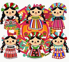 Mexican Dolls by alapapaju