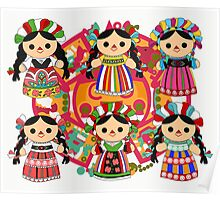 Mexican Dolls Poster