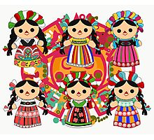 Mexican Dolls Photographic Print