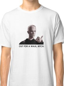 Spike, out for a walk - dark font (TSHIRT) Classic T-Shirt