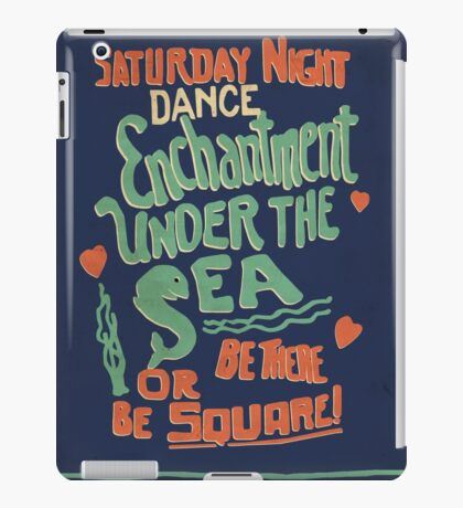 """Enchantment Under the Sea Dance"" iPad Case/Skin"